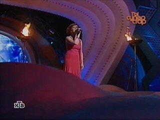 Ольга Зарубина исполняет Песню гр. Гости из будущего