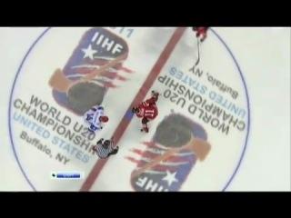 Юниорский Чемпионат Мира по хоккею 2011. ФИНАЛ. Канада - Россия 3-5!!! РУССКИЕ НЕ СДАЮТСЯ!!!