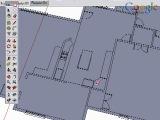 Взаимодействие Google SketchUp и САПР. 2.Создание стен (Eng)