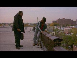 «Пёс-призрак: путь самурая» (Ghost Dog: The Way of the Samurai) (1999)/ фильм Джима Джармуша.