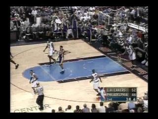 НБА. Сезон 2000/2001. Финал. 5 игра. Лейкерс - Филадельфия