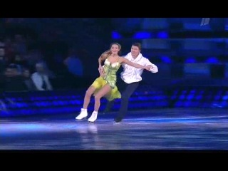 Мария Кожевникова и Алексей Ягудин в шоу