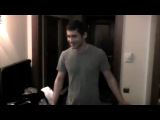 Making the video: Dan Balan и Вера Брежнева - Лепестками Слез (part 1)