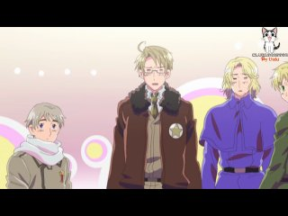 Хеталия и страны Оси ONA / Hetalia: Axis Powers - 1 сезон 9 серия (Субтитры)