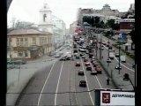 Шок! Аварии на дорогах Москвы. Реальная съемка.
