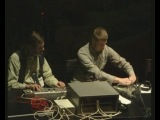 Pan sonic plays Kurenniemi (oct21st2002) -- live