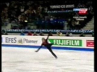Евгений Плющенко - Чемпионат Европы 2005 - Крестный отец