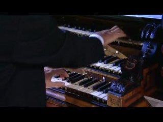 Царь музыкальных инструментов – ОРГАН! Иоганн  Себастьян  Бах  – знаменитая  Токката и фуга  ре минор. Органист  играет рука