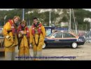 Rupert, Oliver and James about the RNLI