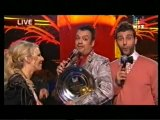 Ф.Киркоров с Собчак и Ургантом (Премия Муз-ТВ 2010)