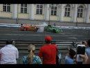 Авария Формула 1 Bavaria Moscow City Racing 2010 18.07.2010
