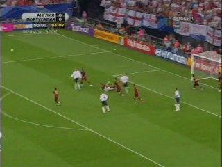 ЧМ-2006. 1/4 финала. Англия - Португалия (2 таймдоп.время и пенальти)