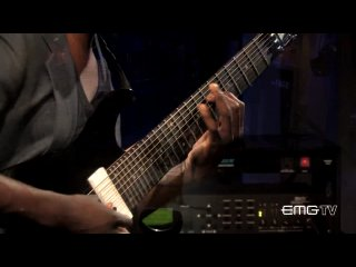 Tosin Abasi Performs Song of Solomon Live at EMG Studios (Animals As Leaders)