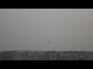 Пожар в Тольятти тушат два самолёта Canadair CL415 (07.08.10 г.)