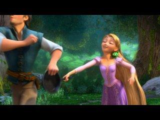 Второй дублированный трейлер мультфильма «Рапунцель: Запутанная история»
