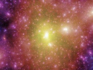 Суперкомпьютерные моделирования образования галактик и квазаров во Вселенной 1. Медленный пролет через вселенную