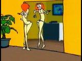 Французский мультфильм про мужчину, который внезапно превратился в женщину