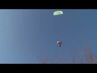 Полёт на кайте в Н.Н. (парк швейцария)