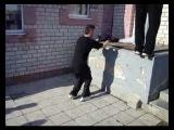 Паркур. Новый клип от Пса.02.04.2011