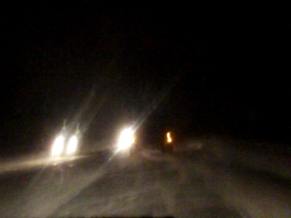 авария на Киевском шоссе 13.01.2011