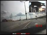 Гонки и мини-авария на BMW M6 в Москве