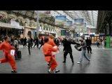 Рекламный флэшмоб от транспортной компании SNCF на вокзале в Париже))