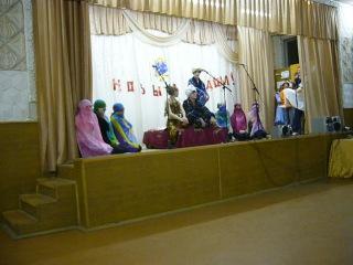 Новый год в школе 2006 2007 вторая часть
