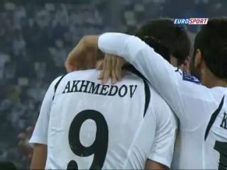 Сервер Джепаров забил красивый гол ударом с дальней дистанции