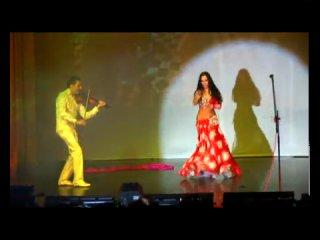 www.aini.com.ua - Тигран Петросян & Алия Аль-Махди - Арабская девушка (танец живота, беллиданс, Bellydance)