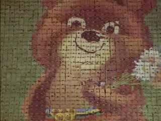 Прощание с олимпийским мишкой, 1980 г.