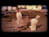 Rayman Raving Rabbids|Rabbids discovering a mysterious object