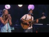 Jason Mraz feat. Colbie Caillat - Lucky (Live) (HQ)