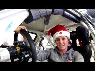 Sabine Schmitz Season's Greatings Nurburgring