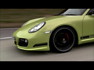 Реклама Porsche Cayman R HD (Порше)