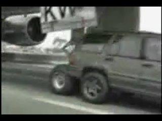 Plane Crash Landing on highway