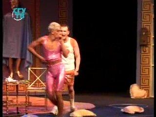 Переполох в Голубятне (репортаж о спектакле театрального агентства