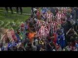 Лига чемпионов. Финал. Бавария - Интер - 0:2. Церемония награждения.