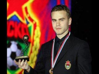 Андрей Аршавин и Игорь Акинфеев лучшие футболисты  России