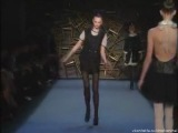 Irina Kulikova stumbled on Zac Posen FW 2008