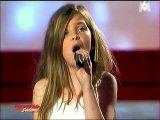 Французская 11ти девочка - Caroline Costa исполнила песню Кристины Агилеры Hurt на конкурсе талантов.