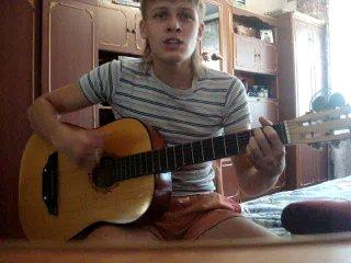 Под гитару - Груз 200 (В. Петлюра) (с)  Вячеслав Валюх(сам красивый и  красиво поет)