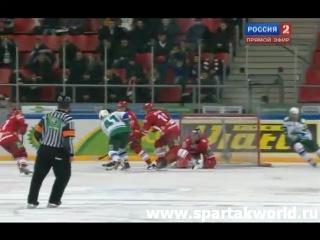 Спартак - Салават Юлаев 1:3 21-01-2011 www.spartakworld.ru