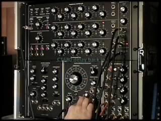 A Ratchety Racket (demo featuring M564, Q119 and MOTM-730 modules)