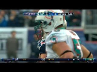 NFL 2010-2011: Miami Dolphins vs New England Patriots - Часть 2 (Week 17) 02.01.2011