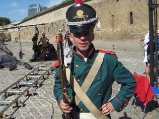 на съёмках Ржевский против Наполеона / Наполеон капут!
