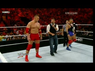 WWE Monday Night Raw - Dance-Off Vladimir Kozlov vs. Santino Marella