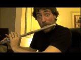 Флейта и битбокс.