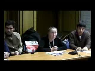 Галина Червонская о прививках на круглом столе в госдуме