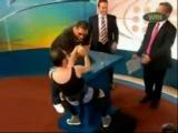 Armrestling Дрищ vs Batista