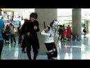 Танец кибер готов на косплее